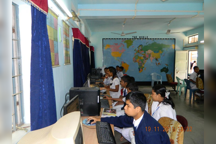 Computer Lab in the School