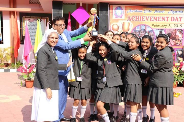 Auxilium Girls School-Achievement
