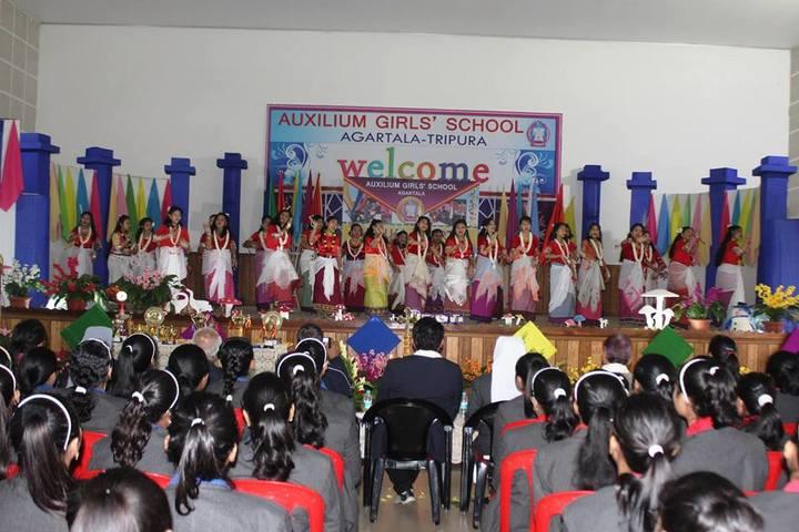 Auxilium Girls School-Annual Day