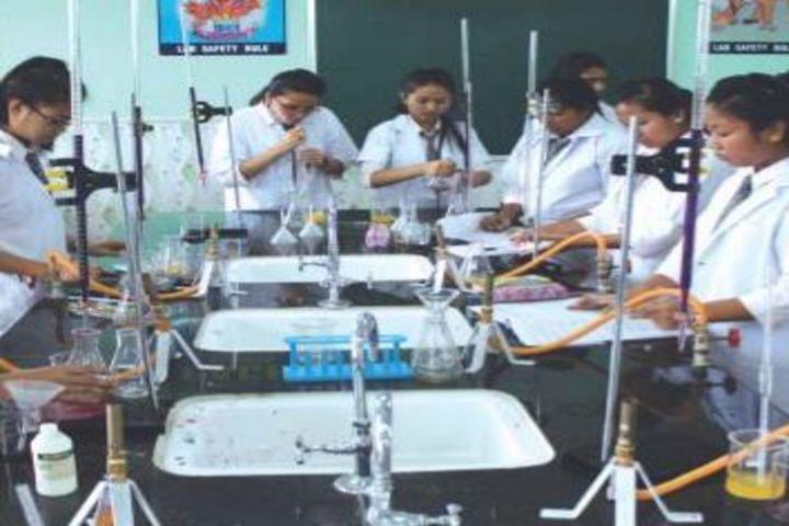 Auxilium Girls School-Chemistry-Lab