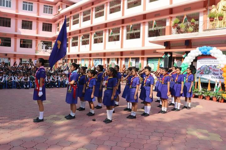 Auxilium Girls School-Republic Day