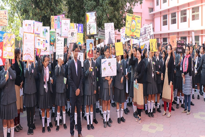 Auxilium Girls School-Rally