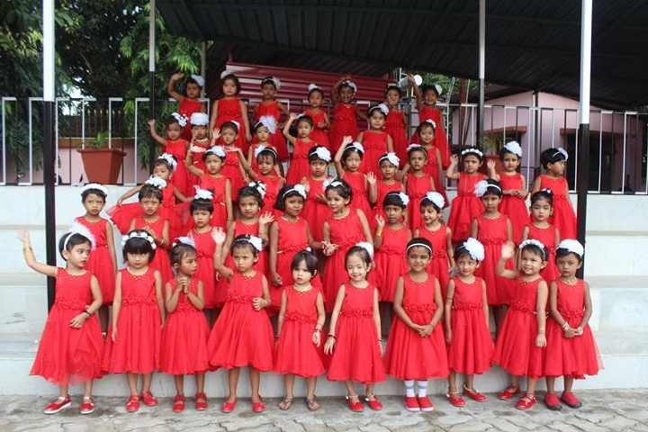 Auxilium Girls School-Red Day