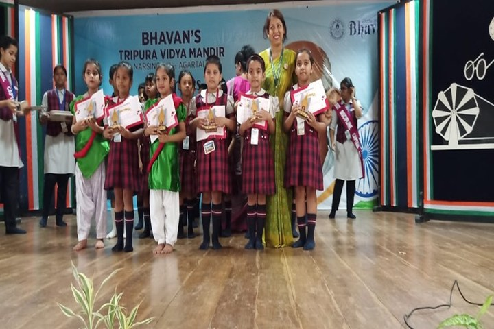 Bhavans Tripura Vidyamandir-Awards