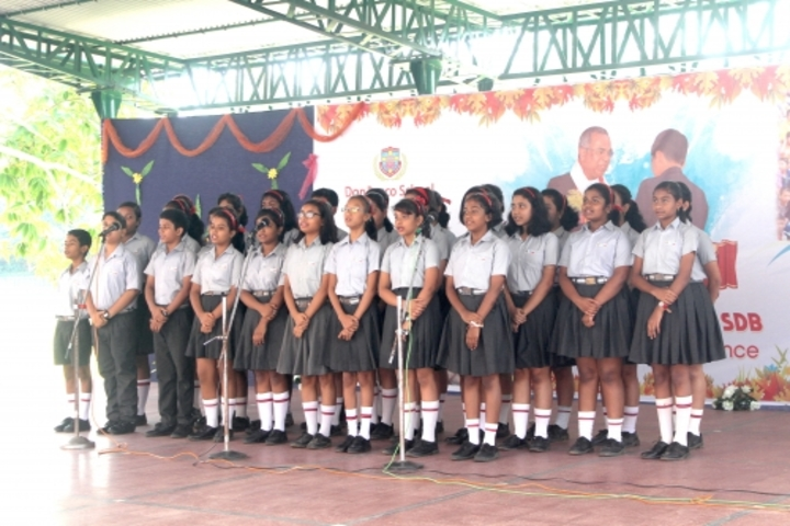 Don Bosco School-Singing