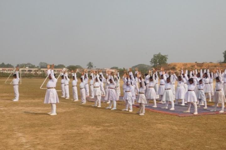 Ma Anandamayee Vidyapeeth-Exercise