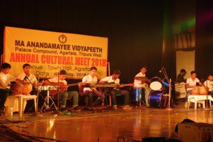 Ma Anandamayee Vidyapeeth-Music Room