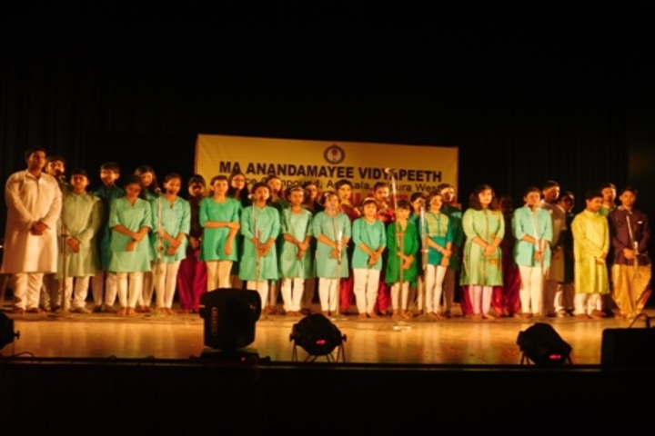 Ma Anandamayee Vidyapeeth-Singing