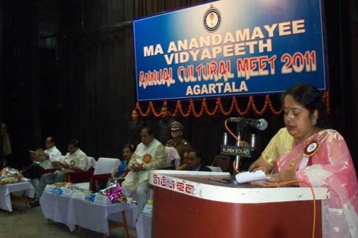 Ma Anandamayee Vidyapeeth-Speech