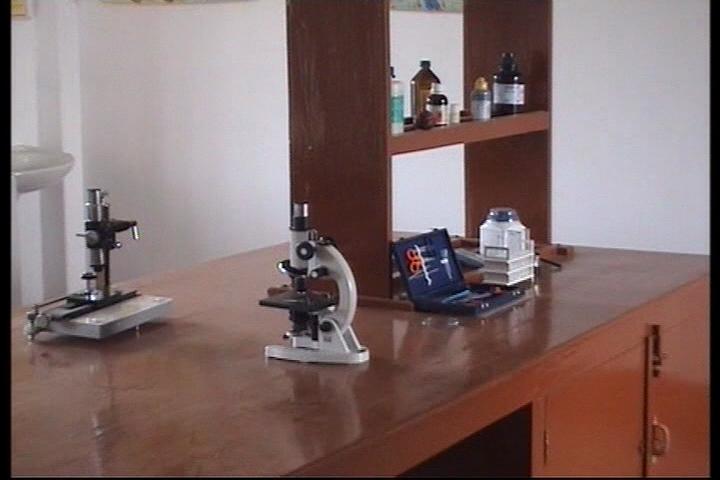 Modern Higher Secondary School-Biology Lab