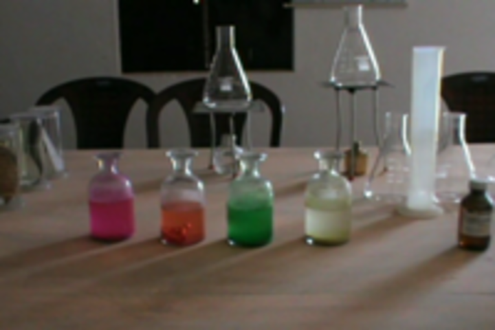 Modern Higher Secondary School-Chemistry Lab