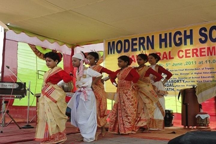 Modern Higher Secondary School-Event