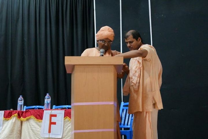 Pranavananda Vidya Mandir-Meeting