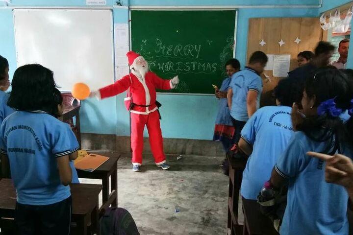 Siksha Bhavan Montessori School-Christmas Day