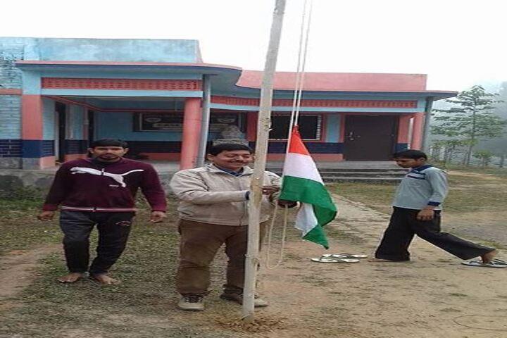 Siksha Bhavan Montessori School-Flag Host