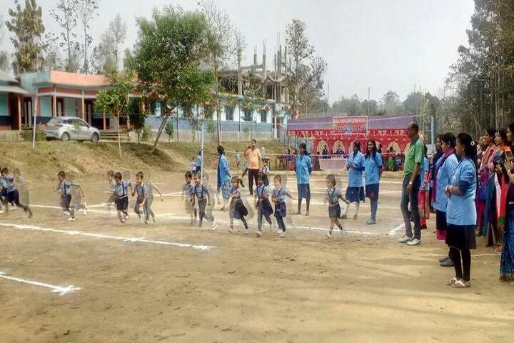 Siksha Bhavan Montessori School-Running