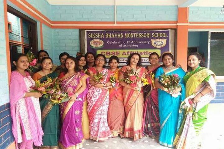 Siksha Bhavan Montessori School-Staff