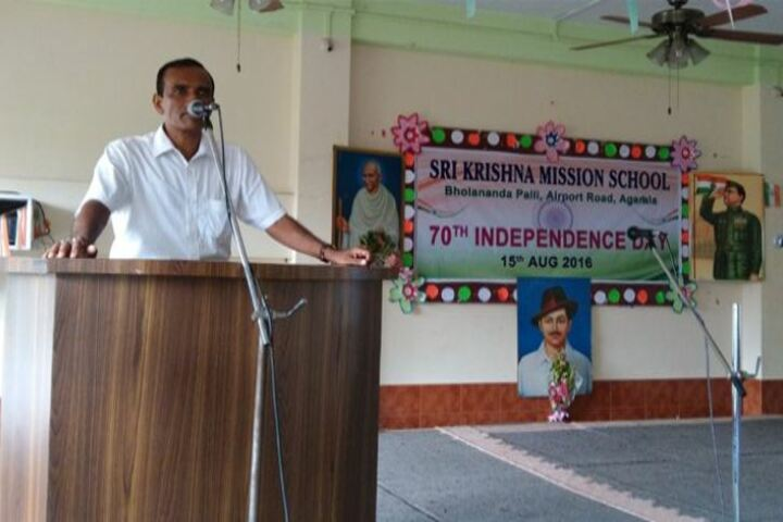 Sri Krishna Mission School-Independence Day