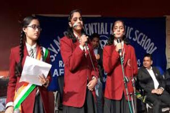 S V M Residential Public School-Independence Day