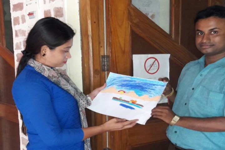 The Agartala International School-Art