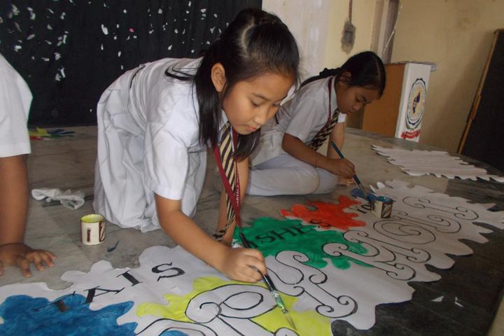 The Agartala International School-Drawing