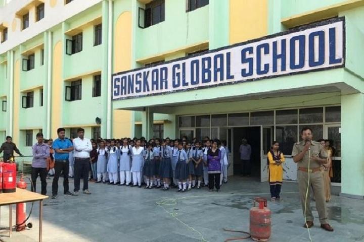 Sanskar Global School-Fire Safty Awareness