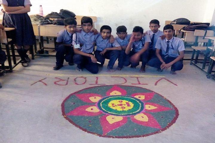 A B S International School-Rangoli Event