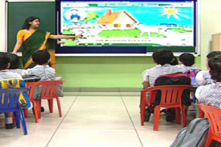 S A International Public School-Smart Class Room