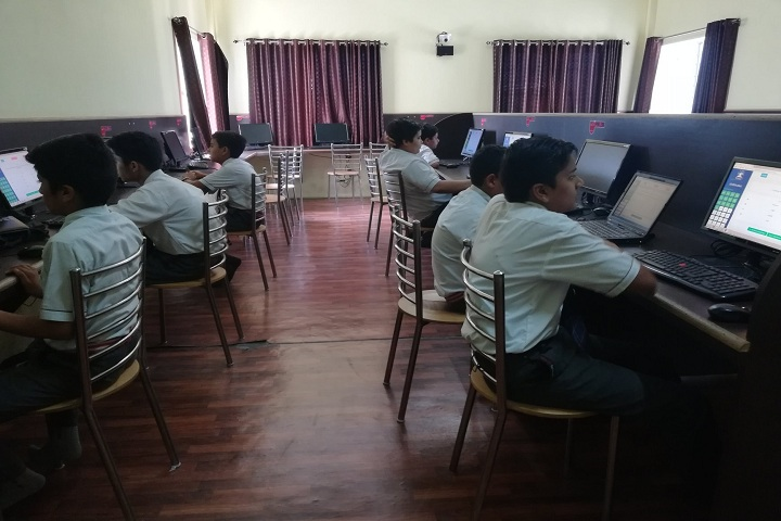 A M World School-Computer Lab