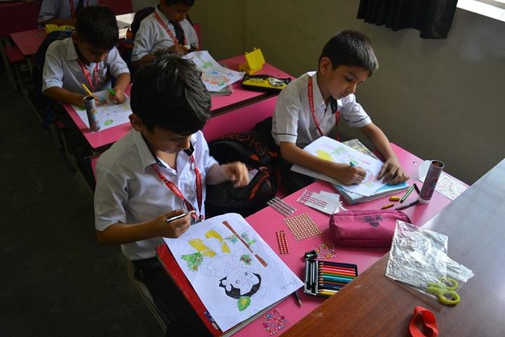 A M World School-Drawing
