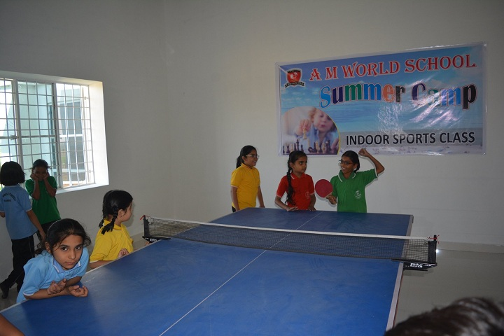 A M World School-Indoor Games