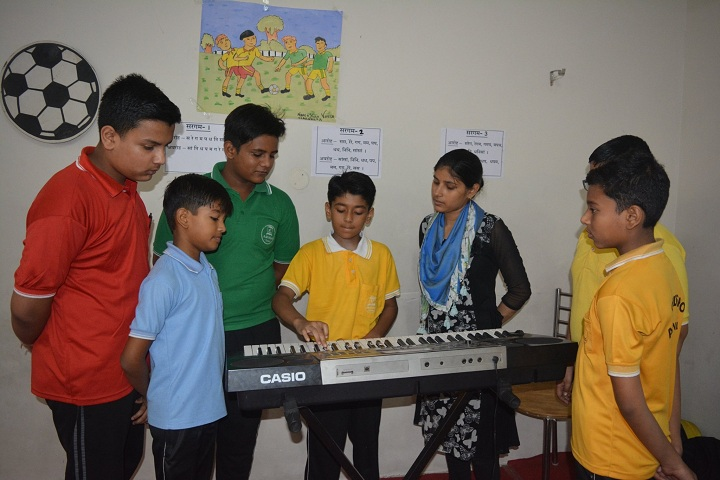 A M World School-Music Room