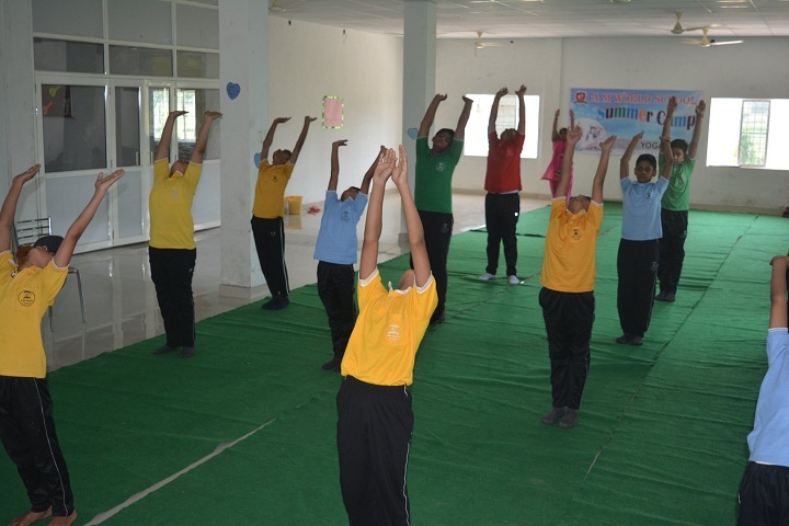 A M World School-Yoga