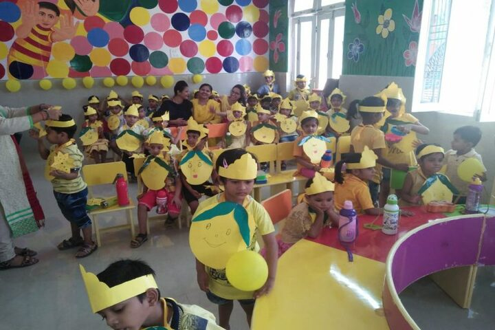 A P Public School-Yellow Day