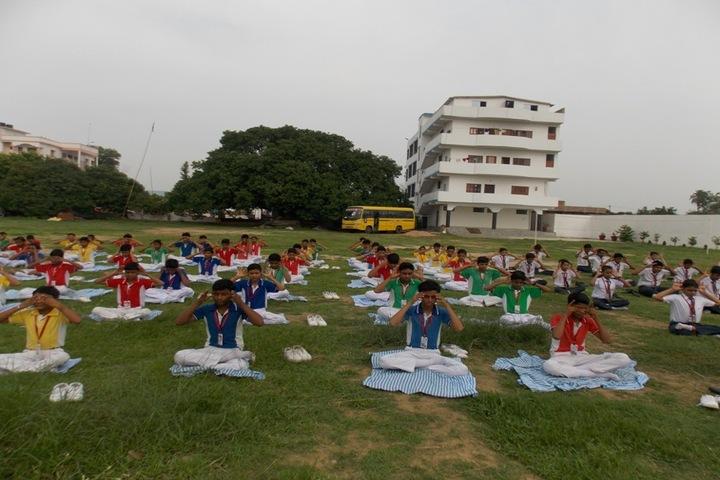 S B P Vidya Vihar-Yoga Activity