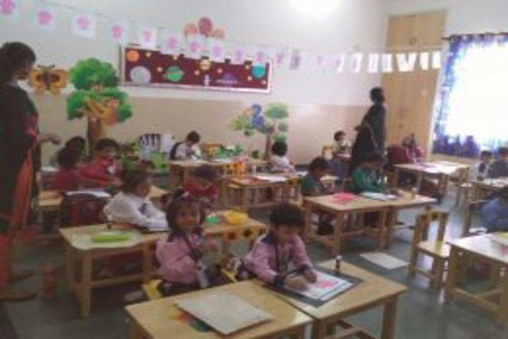 A K Children Academy-Class decoration