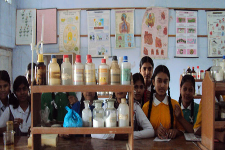 A S M Convent School-Chemistry lab
