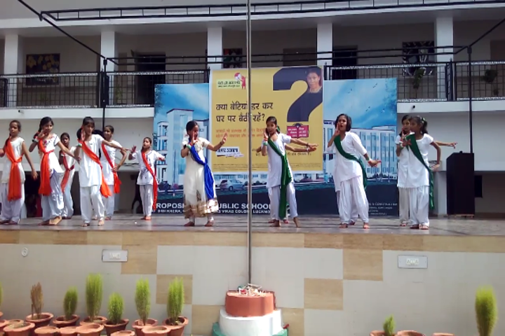 Abc Public School-Republic Day