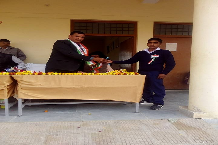 Abhinav Vidyalaya Gangdharapur-Award Receiving