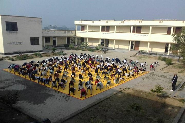 Abhinav Vidyalaya Gangdharapur-Yoga