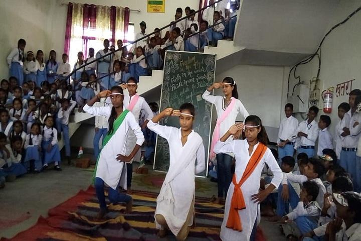 Abhinav Vidyalaya Karora-Dance