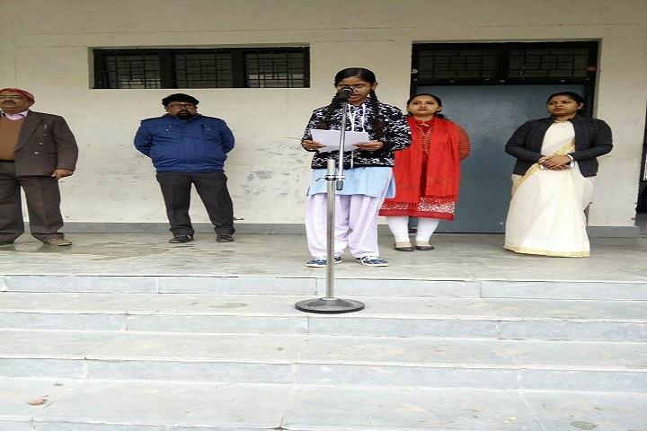 Abhinav Vidyalaya Karora-Speech