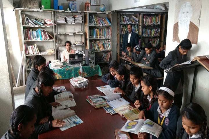 S D V Public School-Library