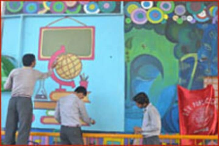 S D V Public School-Painting