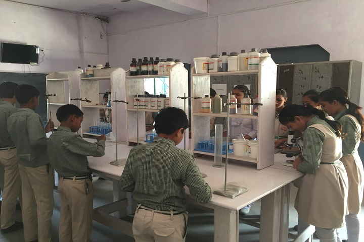 Adarsh City Convent School-Chemistry Lab