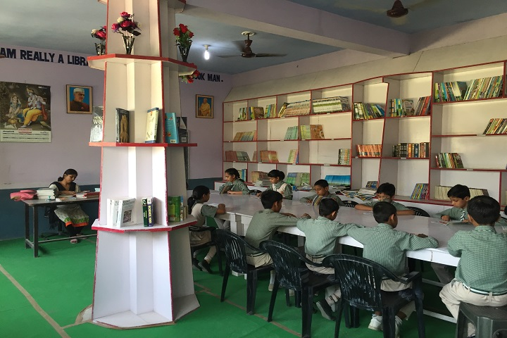 Adarsh City Convent School-Library