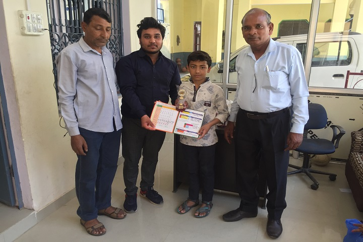 Adarsh City Convent School-Prize