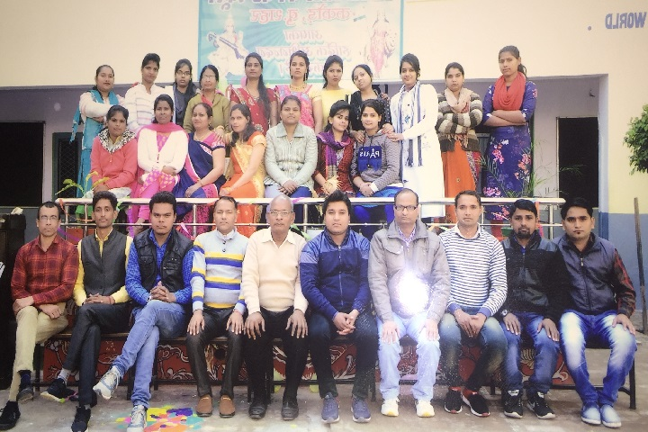 Adarsh City Convent School-Staff Group Photo