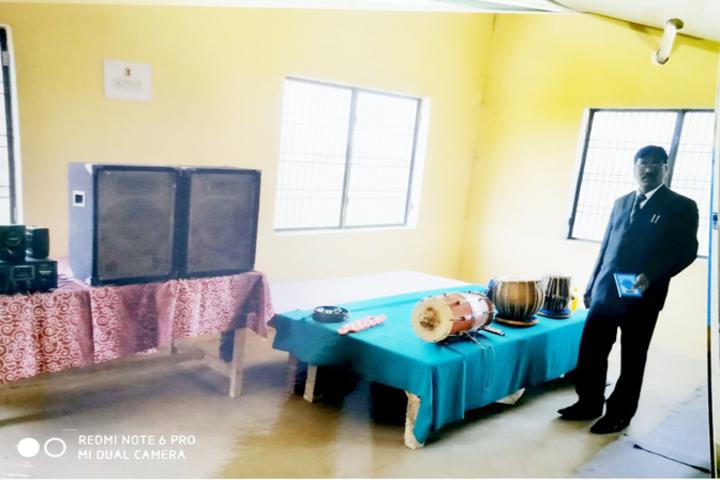 Adarsh Public School-Music Room