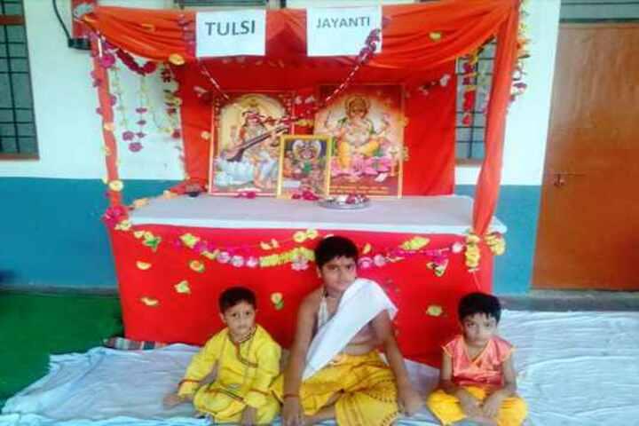 Adarsh Vidya Mandir -Tulsi Jayanthi